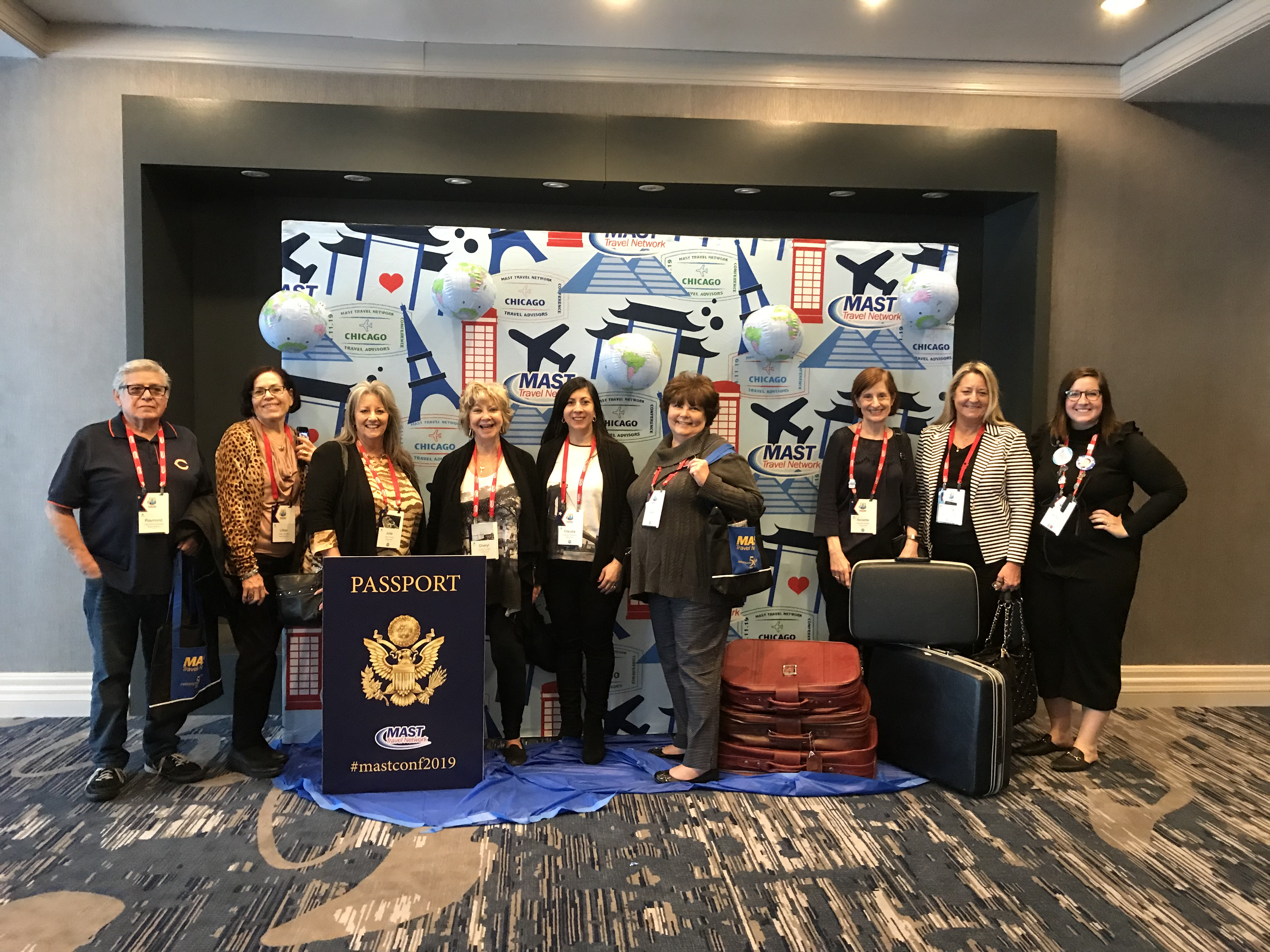 Travel agents gathered at MAST's 50th the Anniversary conference in Chicago this week