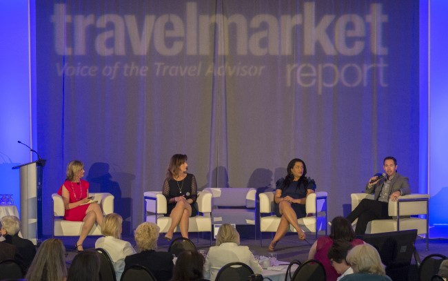 Travel MarketPlace East hosted a Social Media Outlook panel with industry experts moderated by TMR's Geraldine Ree