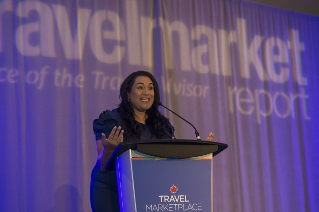 Sandra McLemore kicks off the Travel MarketPlace East Conference on June 12th