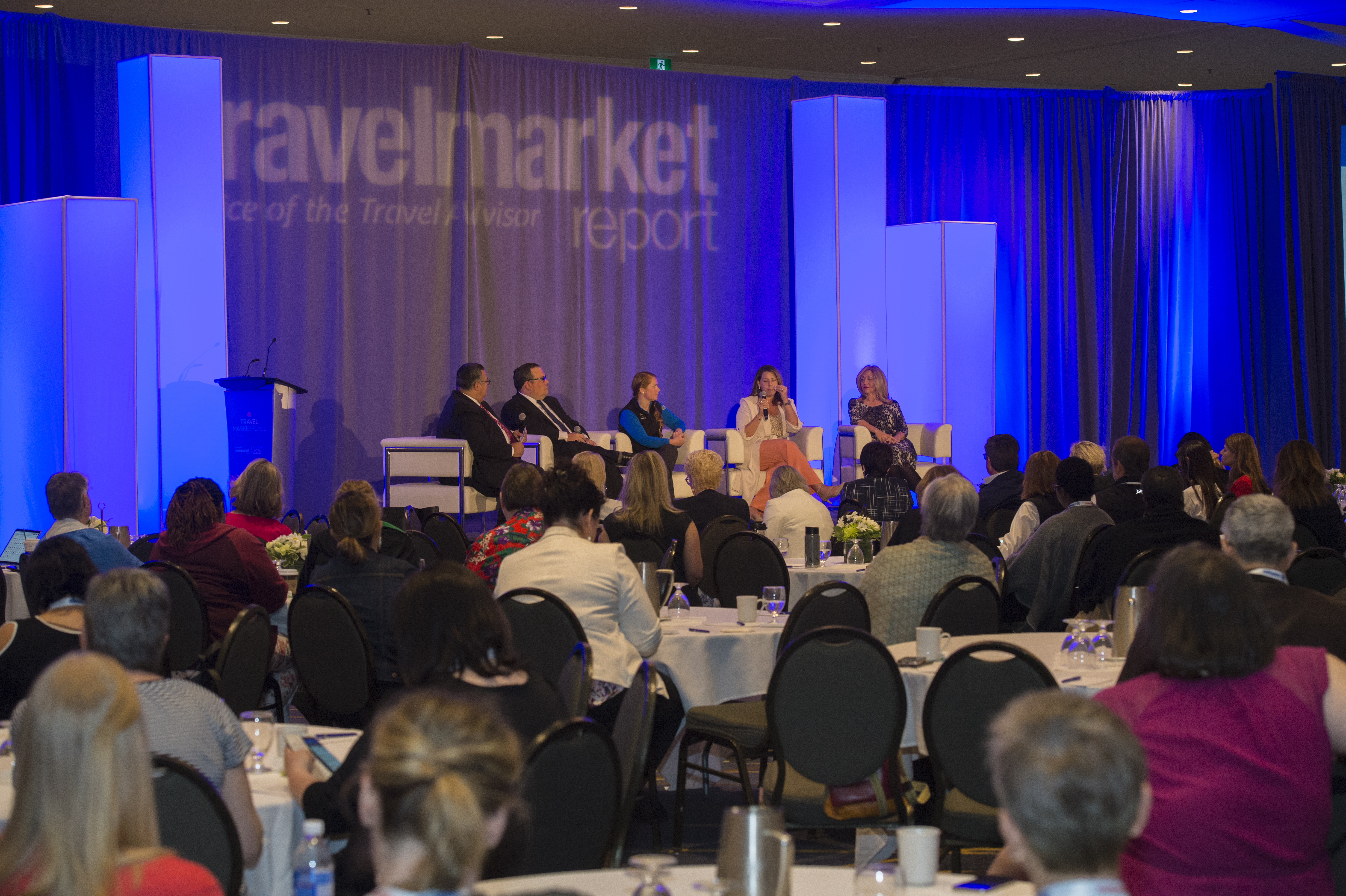 Charles Sylvia (VP of Membership & Trade Relations, CLIA) hosts a panel on Niche & Expedition Cruising at Travel MarketPlace East