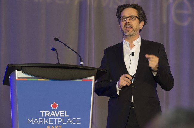 Derek Lloyd (National Director of Sales - Canada, NCL) at Travel MarketPlace East on Travel Advisors' relationship to Millennials